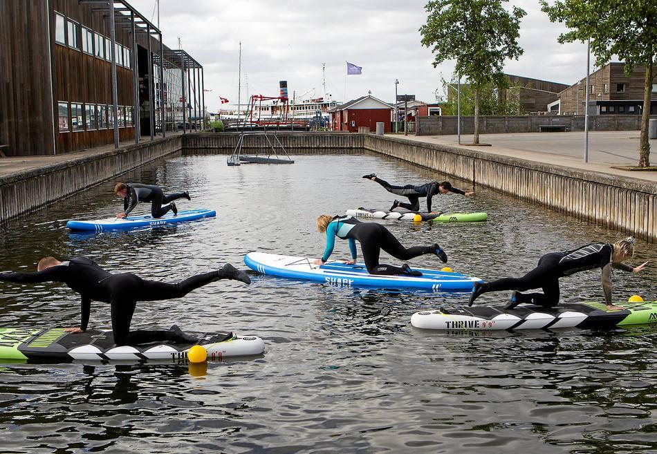 SUP Yoga i Roskilde