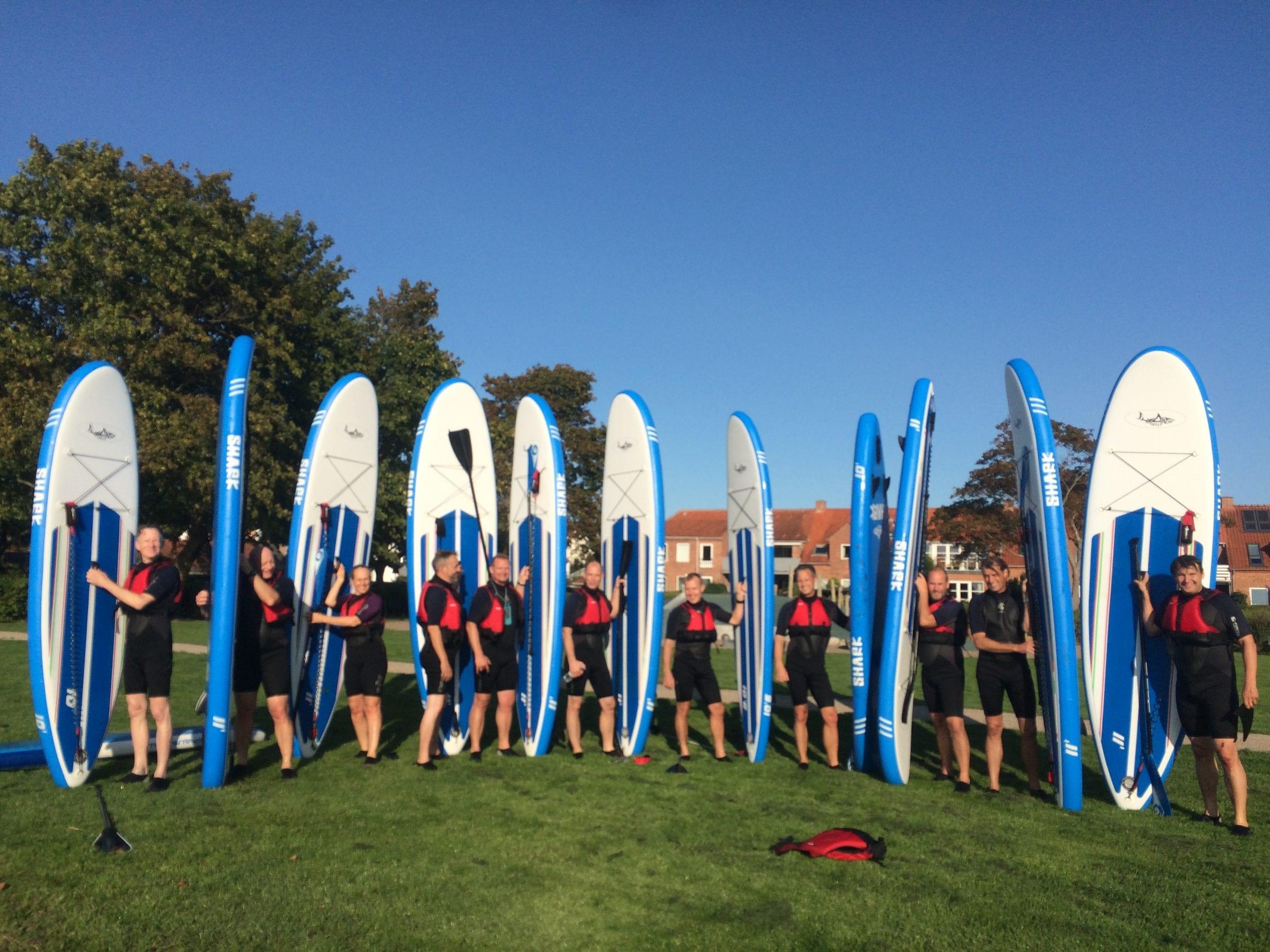Teambuilding med SUP i Roskilde