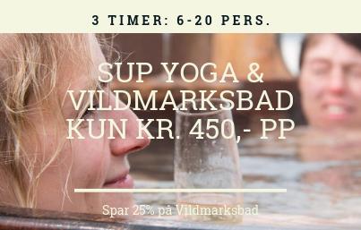 SUP Yoga til polterabend
