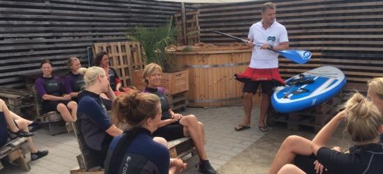 Teambuilding på Roskilde havn til SUP